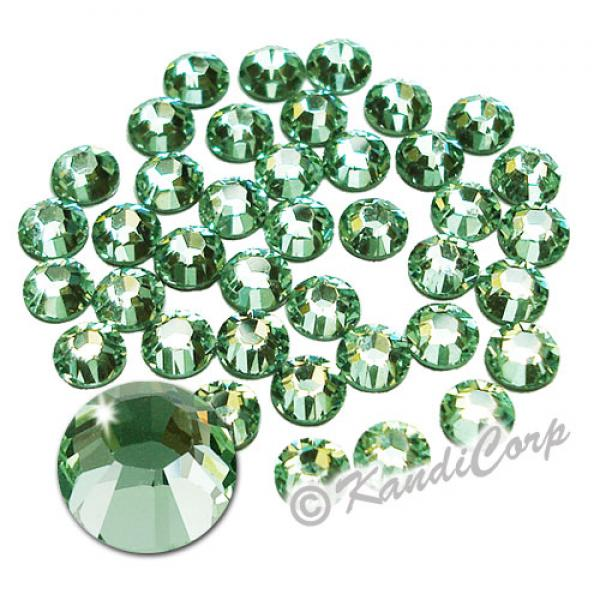 5mm 20ss Chrysolite Swarovski 2038 Low Lead Swarovski HotFix Crystals