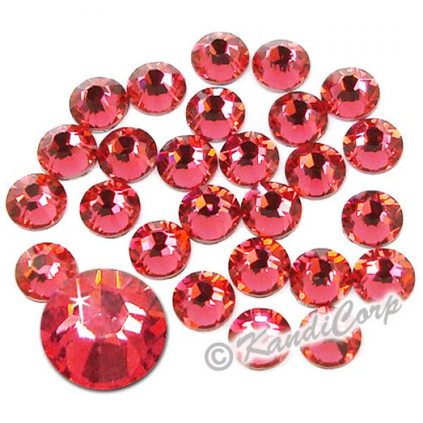 5mm 20ss Indian Pink Swarovski 2038 Low Lead Swarovski HotFix Crystals
