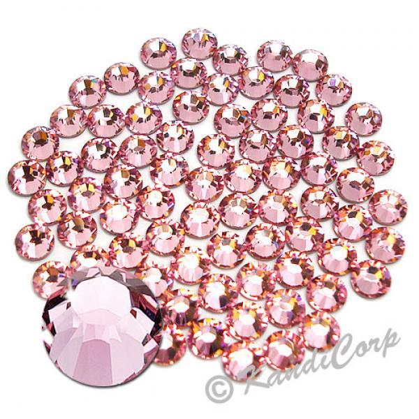 5mm 20ss Light Rose Swarovski 2038- Low Lead Swarovski HotFix Crystal