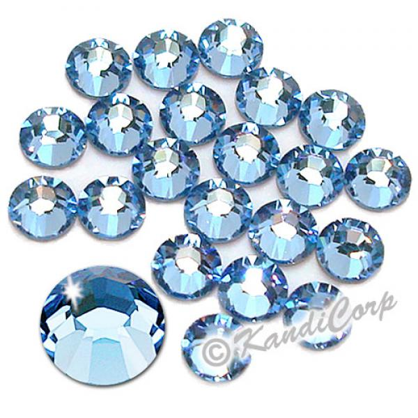 5mm 20ss Light Sapphire Swarovski 2038- Swarovski HotFix Crystals