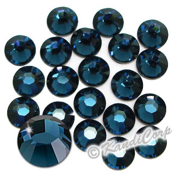 5mm 20ss Montana Swarovski 2038 Low Lead Swarovski HotFix Crystals
