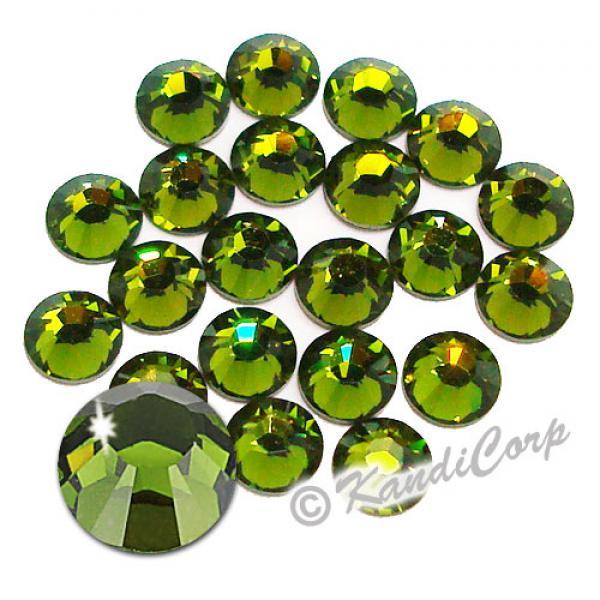 5mm 20ss Olivine Swarovski 2038 Low Lead Swarovski HotFix Crystals