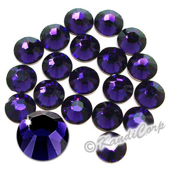 5mm 20ss Purple Velvet Swarovski 2038 Swarovski HotFix Crystals