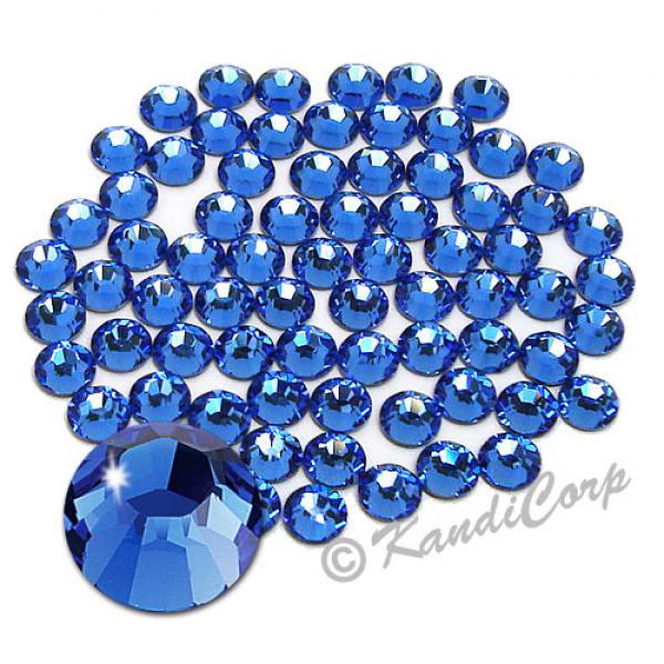 5mm 20ss Sapphire Swarovski 2038- Low Lead Swarovski HotFix Crystals