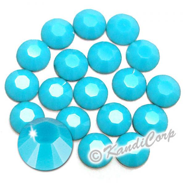 3mm Turquoise 2028 Swarovski HotFix Crystals
