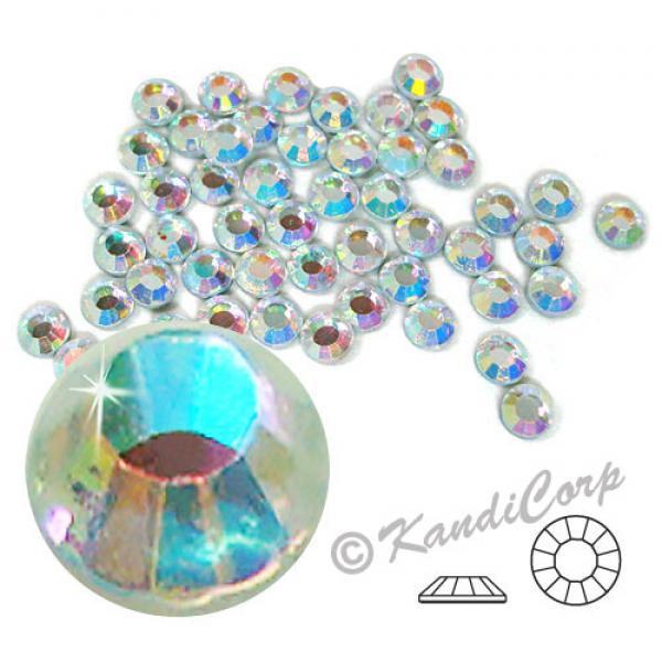 4mm 16ss  Crystal AB CraftSafe HotFix Crystals