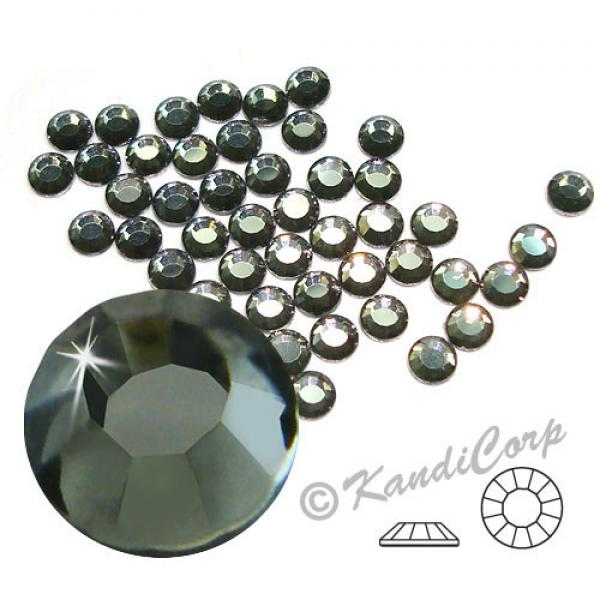 4mm 16ss Black Diamond CraftSafe HF Crystals