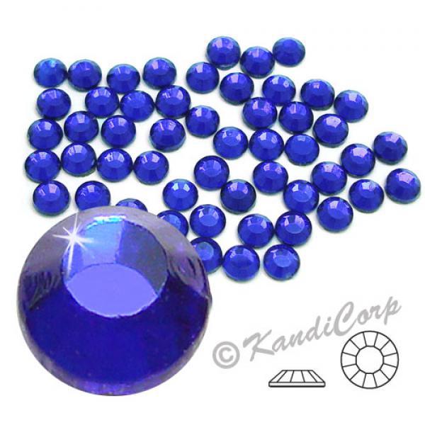4mm 16ss Cobalt CraftSafe HotFix Crystals