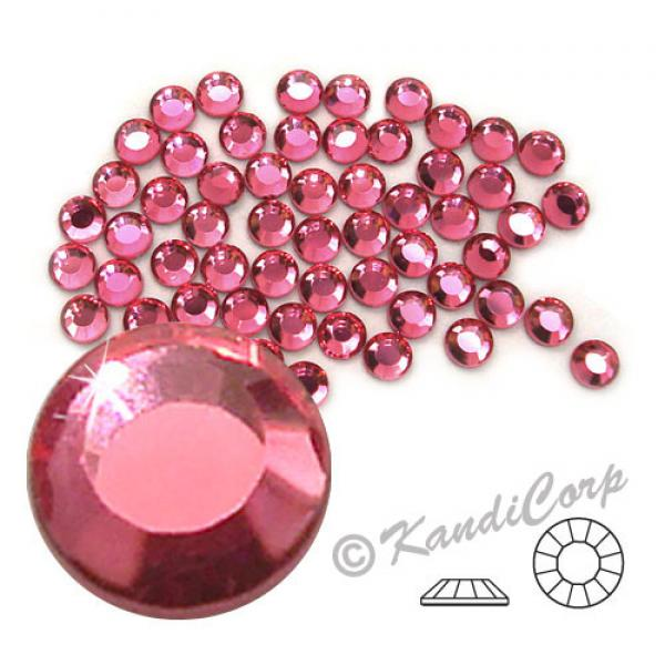 4mm 16ss Rose CraftSafe HotFix Crystals