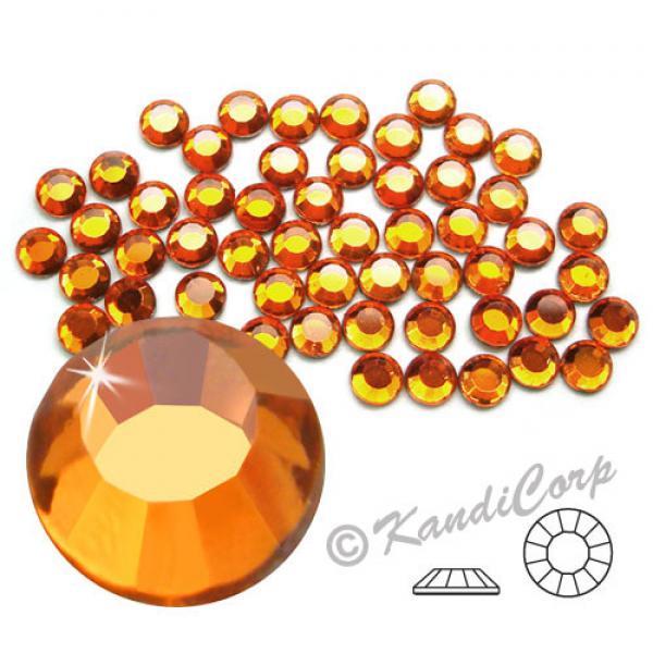 4mm 16ss Sun CraftSafe HotFix Crystals