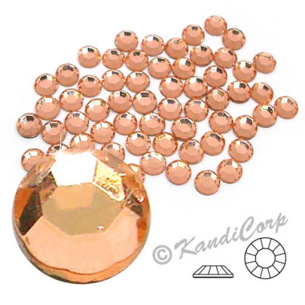 3mm 10ss Peach Crystalina HotFix Rhinestone Korean Crystals
