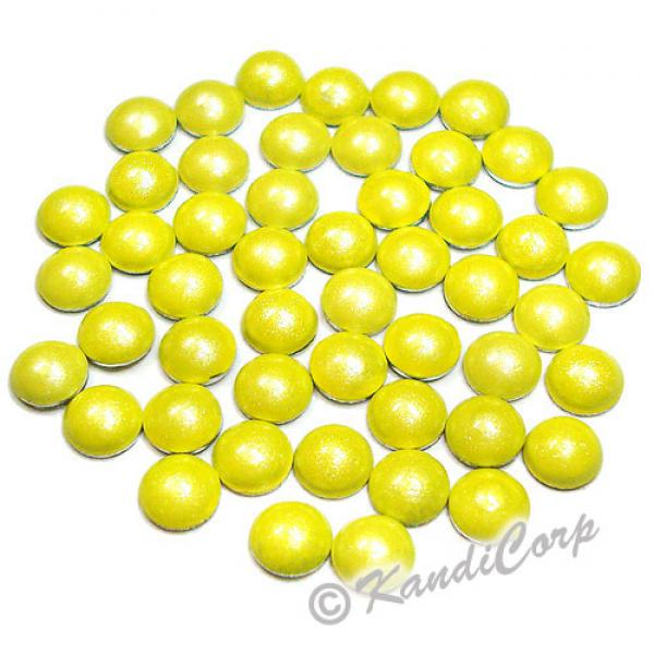3mm Yellow HotFix Pearlstud