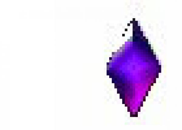 Diamond 5x10mm Purple HotFix Nailheads