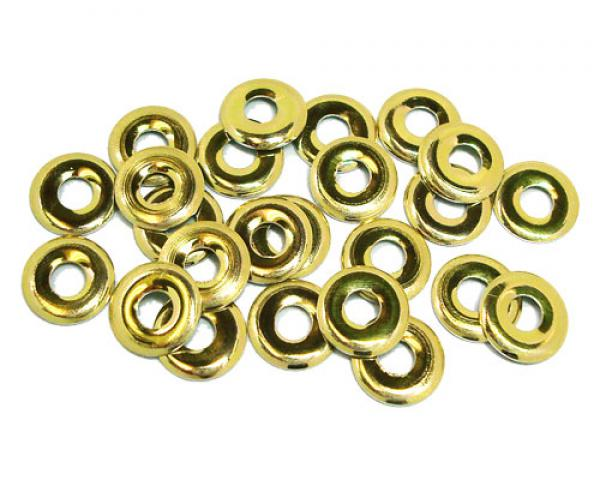 Donut 10 mm Gold HotFix Nailheads