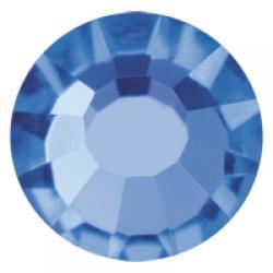 6mm Sapphire Preciosa HotFix Crystals