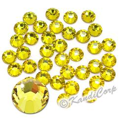 5mm 20ss Citrine Swarovski 2038- Low Lead Swarovski HotFix Crystal
