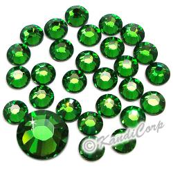 5mm 20ss Fern Green Swarovski 2038 Low Lead Swarovski HotFix Crystals