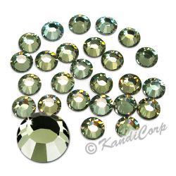 7mm 34ss Crystal Sage Swarovski 2038 LowLead Swarovski HotFix Crystals