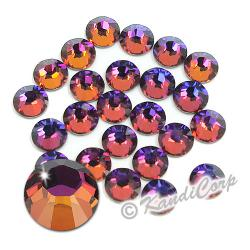 7mm Crystal Volcano Swarovski 2038- Low Lead Swarovski HotFix Crystals
