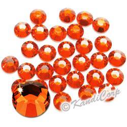 7mm 34ss Hyacinth Swarovski 2038 Low Lead Swarovski HotFix Crystals