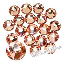 3mm 10ss Rose Peach Swarovski 2038- Low Lead Swarovski HotFix Crystal
