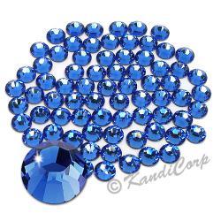 3mm 10ss Sapphire Swarovski 2038- Low Lead Swarovski HotFix Crystals