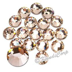 7mm 34ss Silk Swarovski 2038- Low Lead Swarovski HotFix Crystal