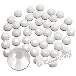 5mm 20ss Chalk White Swarovski 2038 Low Lead Swarovski HotFix Crystals