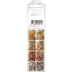 CrystalStyle Crystalina April Birthstone Assortment Pack