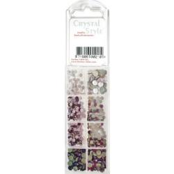 CrystalStyle Crystalina February Birthstone Assortment Pack