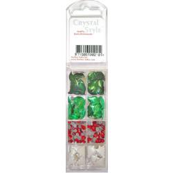 CrystalStyle Crystalina HollyBerry Assortment Pack