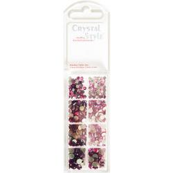 CrystalStyle Purple Pearlstud Assortment Pack
