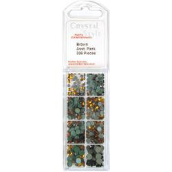 CrystalStyle Crystalina Browns Assortment Pack