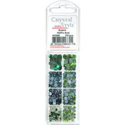 CrystalStyle Crystalina Greens Assortment Pack