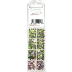 CrystalStyle Crystalina August Birthstone Assortment Pack