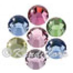 5mm Pastel Mix Swarovski 2038 Swarovski HotFix Crystals