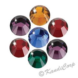 4mm Dark Mix Swarovski Non-HotFix FB 2028 Crystals
