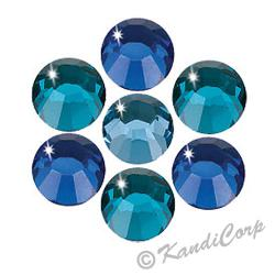 5mm Ocean Mix Swarovski Non-HotFix FB 2028 Crystals