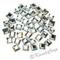 4mmx4mm Crystal Square 2400 LowLead Swarovski HotFix Crystals