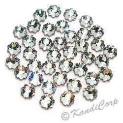 4mm Crystal Flower 2728 Swarovski HotFix Crystals