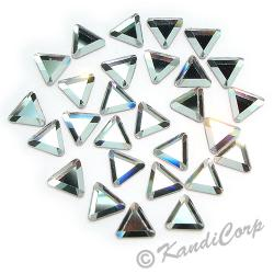 6mm Crystal Triangle 2711 LowLead Swarovski HotFix Crystals
