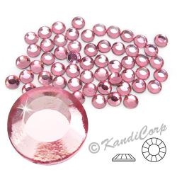 2mm 6ss Light Rose CraftSafe HotFix Crystals