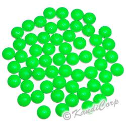 4mm Neon Bright Lime Round Nailheads