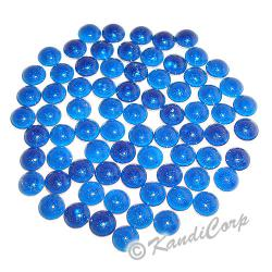 4mm Blue HotFix Pearlstud
