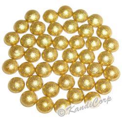 3mm Gold HotFix Pearlstuds
