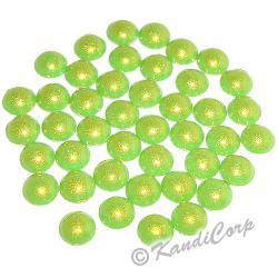 2mm Peridot HotFix Pearlstuds