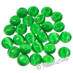 5mm Emerald TigerEye HotFix