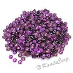 Round 4mm 16ss Purple HotFix Octagon Faceted RhineStuds