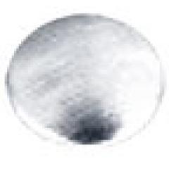 Round   2 mm Matte Silver HotFix Nailheads