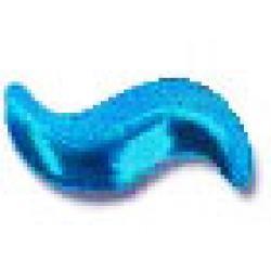 Curve 5x10mm Turquoise HotFix Nailheads